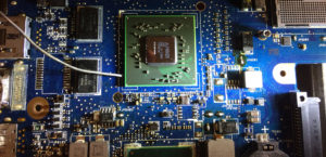 reballing chipset laptop